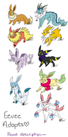 NYP Pokemon Adopts {2/9 OPEN} by WingedLeopard