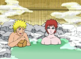 Naruto - At the thermal baths by pride-ed