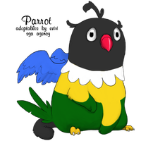 Chatot by Alyssa-Rice