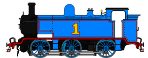 Thomas the E2 Tank Locomotive by omega-steam