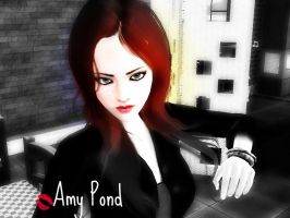 Sims3 Amy Pond by DocsCompanion