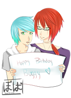 HAPPY BIRTHDAY BUGGY by Boba-MilkTea