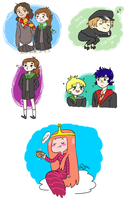Some pottermore and draws by Chocotorta