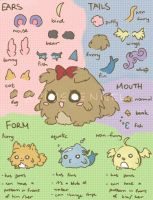 AK: Kennel Pets Reference Sheet by OtakuPup