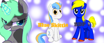 BDP and ABlueSkittle thank you by mlpTechnoGear