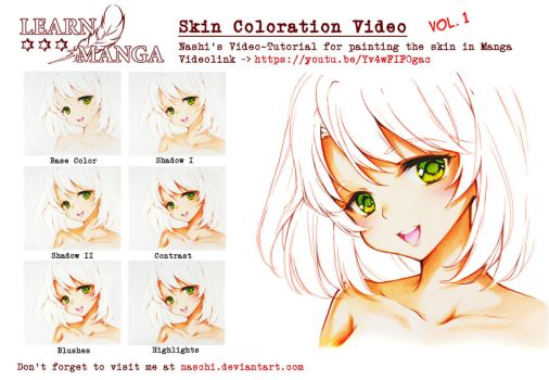 Skin Coloration VIDEO by Naschi