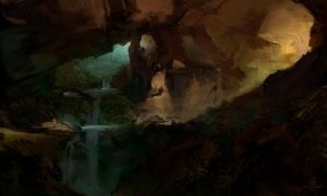 20150503 Cave by psdeluxe