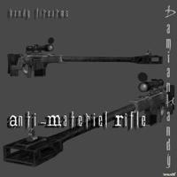 Anti-Materiel Rifle by DamianHandy