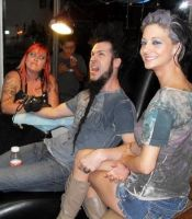 tattooing wayne static by Doctah-Jones