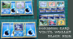 Pokemon card vinyl wallets: Horsea and firends by Sugar-Bot