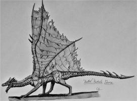 Monster Hunter 2: Kushala Daora (Rusted) by AcroSauroTaurus