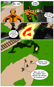 Lava Man Preview (8) by SKYcomicsSTUDIOS