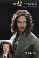 My Immortals Aragorn repaint by my-immortals