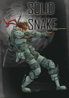 Solid Snake by SIGMARK