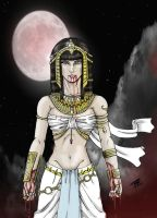 Queen of the Damned by NightInk-RcArt