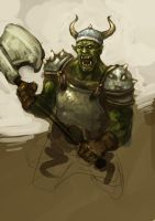 Orc by zoppy