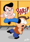River City Ransom Card by kevinbolk