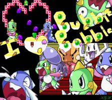 I love Bubble Bobble by Kaiba-Girl-Maliko