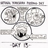 National Yorkshire Pudding Day by YourFathersMustache