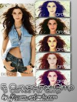 Gimp Curve Pack1 by MichelleNeves