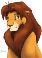 I Can Still Draw Simba by nalina