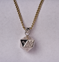 D20 Necklace by CountMagnus