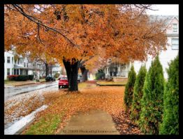 A Small Town Fall by MrParts