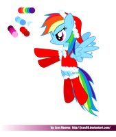 Rainbow Dash Xmas by JcosNeverExisted