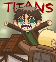 Eren Screaming -preview- by Hat-Kid