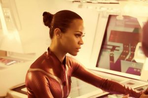 Uhura Working by BlackLeatherAgiel