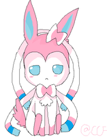 Sylveon~~ by CaraTheHedgehog