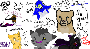 ISCRIBBLE5 by Ravenstar01