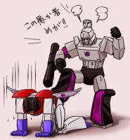 Megatron and Starscream 2 by J-666