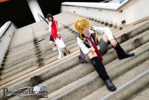 Pandora Hearts - Oz and Alice2 by r-kira