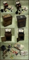 Witchy Cabinets - 1:12 scale by DFLY847
