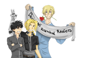 Risembool Rangers Contest by BambooGecko