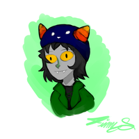 nepeta doodle by boywiththecurls