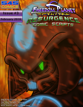 Freedom Planet Resurgence Issue 3 Comic Script PDF by CCI545