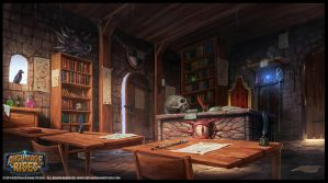 The Mage's Classroom by RogierB
