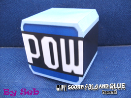 POW Block Papercraft by SebCroc