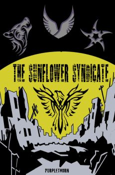 The Sunflower Syndicate Front Cover by PurpleThorne