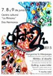 Otaku2H official event poster, quilling artwork by Yuki-Myst