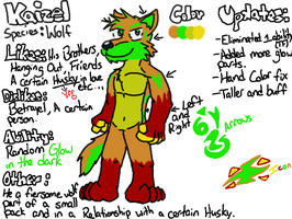 Kaizel ANTHRO Ref by DougFluff345