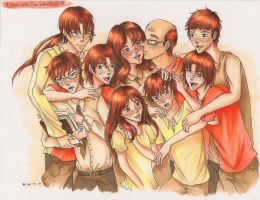 A love like the Weasleys by Tobi-chan-Lissesul