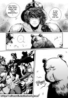 Lovino and the bear 21 by mitssuki