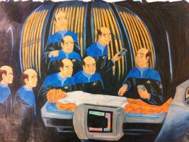 Holodeck Anatomy Lesson by lvyPetrel