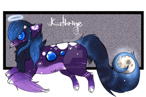 Kathrine Ref Sheet by Koiremains