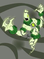 .:ben 10 omniverse----ghostfreak:. by frecitha98