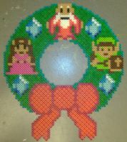 Legend of Zelda Wreath by SplicedUp