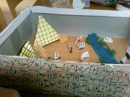 My Egypt History Project by DragoniteMessenger